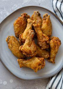 pečena hrskava krilca, pileća krila u sosu priprema