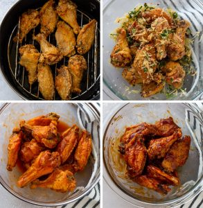 pileća krila spremljena u sosu, pileća krila u sosu priprema