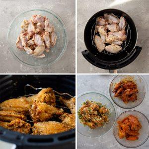 namirnice za recept, pileća krila u sosu priprema